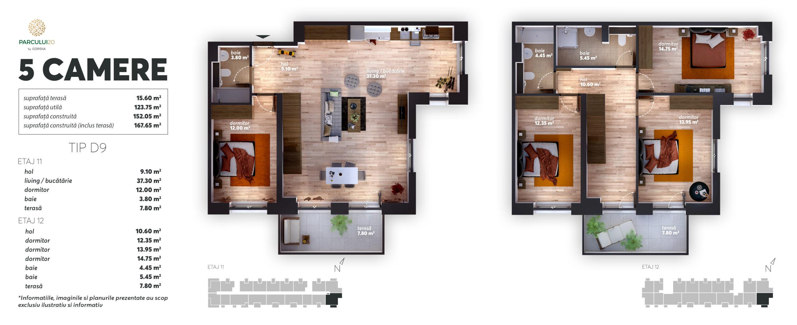 Apartament Except (tip 6)