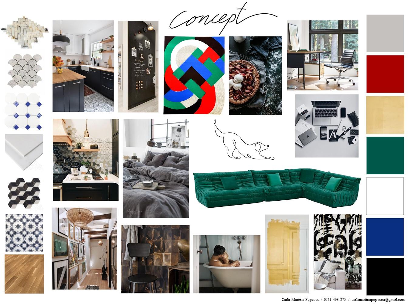 Amenajează-ți apartamentul cu sugestiile de design interior ale cursanților DallesGO