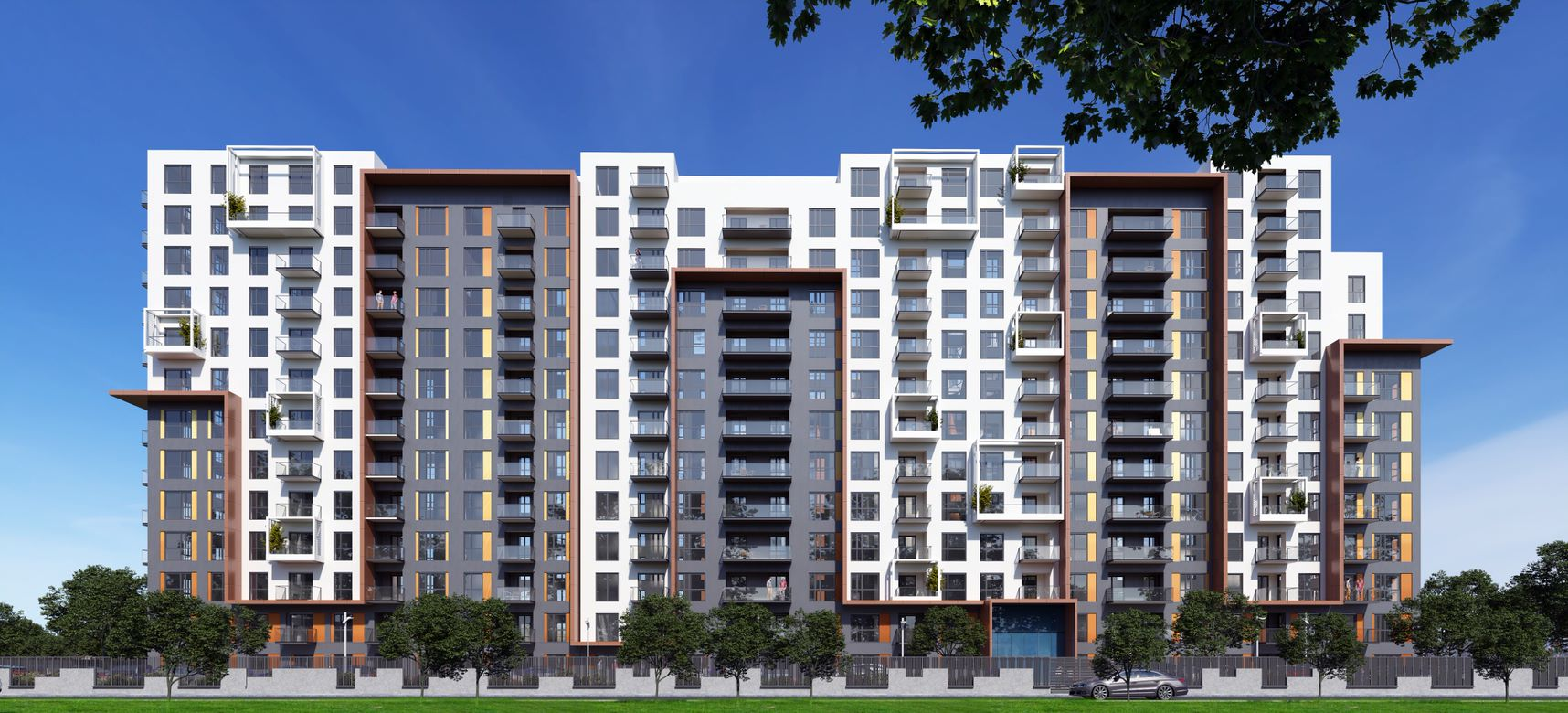 For sale: apartments in Parcului20`s second phase