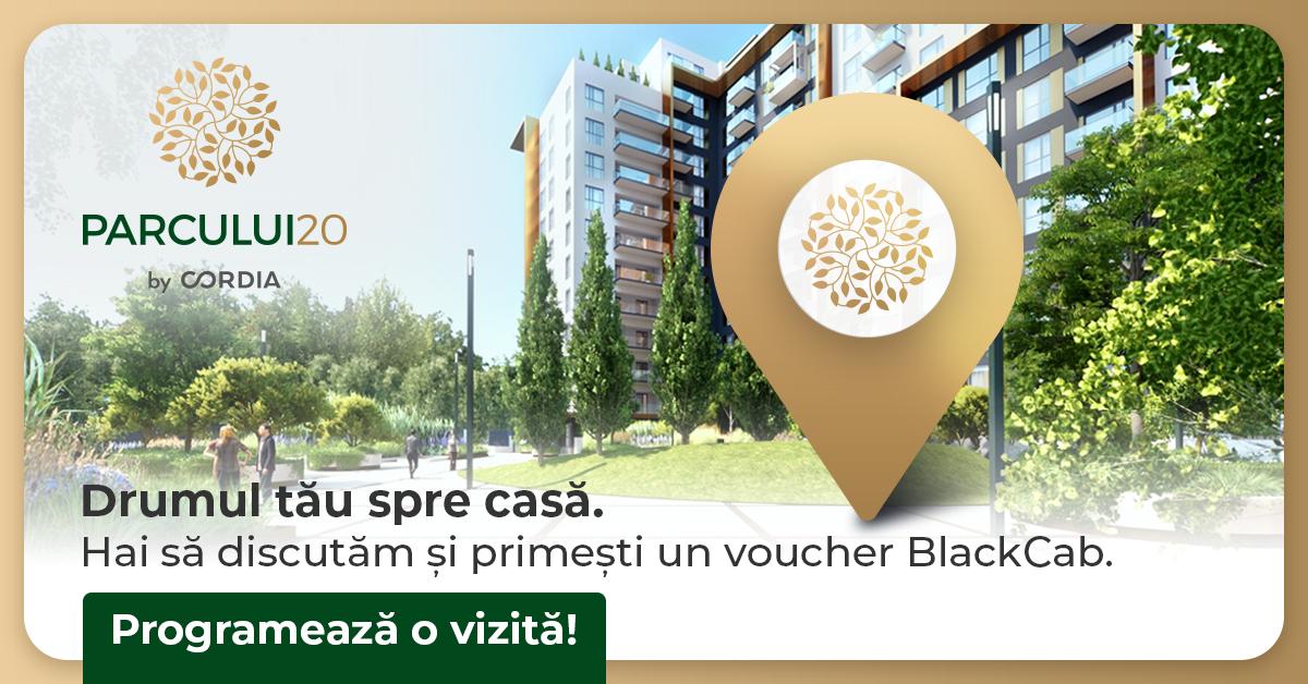 Parcului20 voucher Black Cab